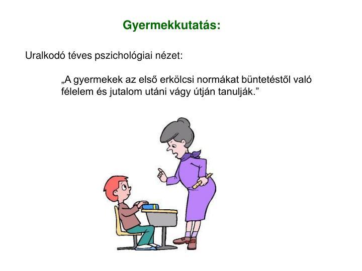 Gyermekkutatás:
