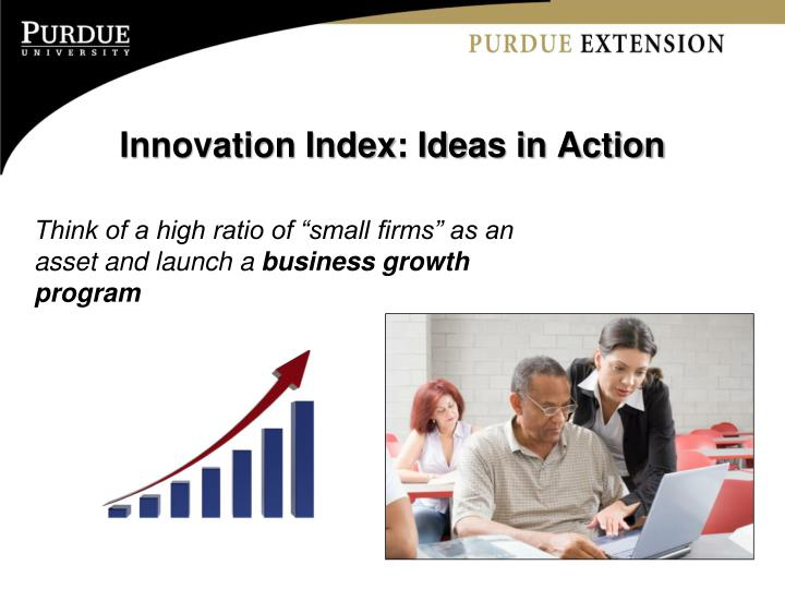Innovation Index: Ideas in Action