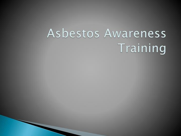 asbestos awareness training n.