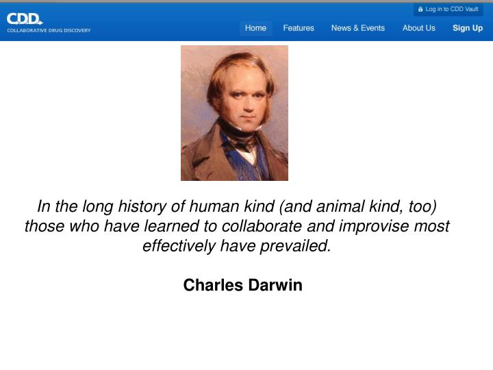 In the long history of human kind (and animal kind, too) those who have learned to collaborate and i...