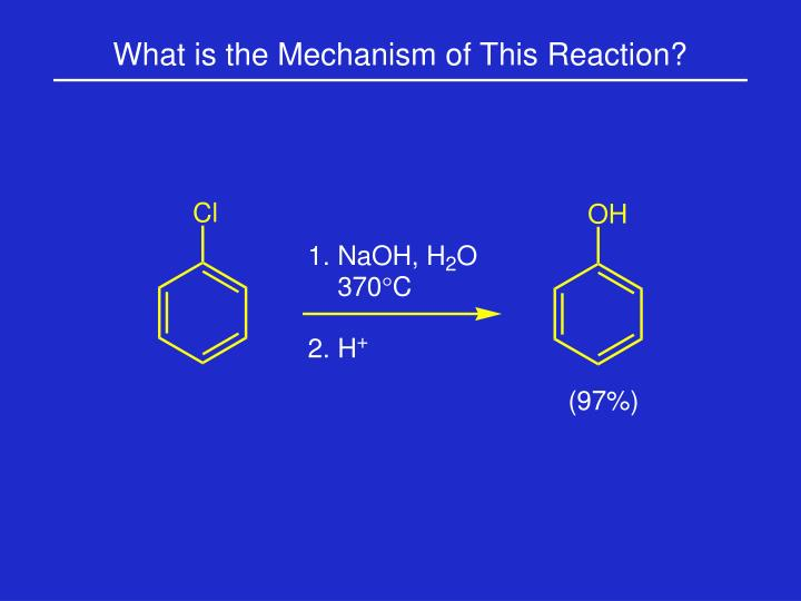 What is the Mechanism of This Reaction?