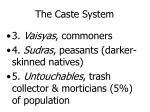 the caste system1