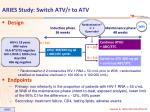 aries study switch atv r to atv