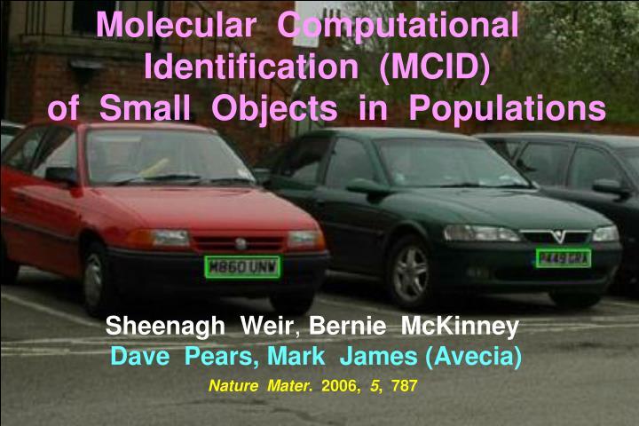 Molecular  Computational
