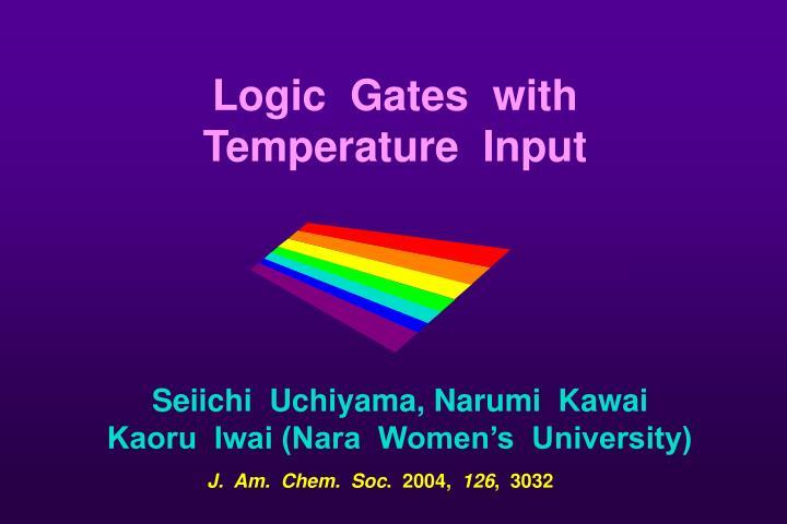 Logic  Gates  with
