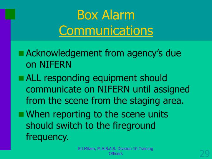 Box Alarm