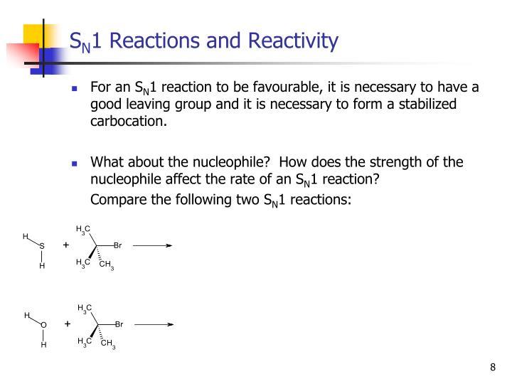 sn1 reactivity