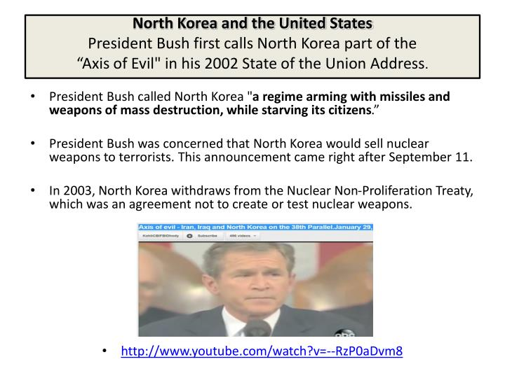 North Korea and the United States