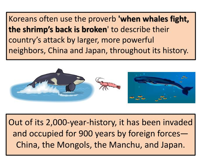 Out of its 2,000-year-history, it has been invaded and occupied for 900 years by foreign forces—China, the Mongols, the Manchu, and Japan.