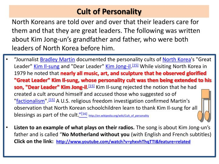 Cult of Personality