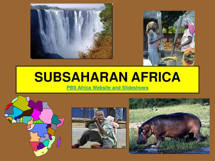 subsaharan africa pbs africa website and slideshows n.