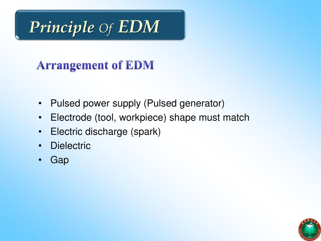 PPT - ELECTRIC DISCHARGE MACHINING PowerPoint Presentation - ID:5371746