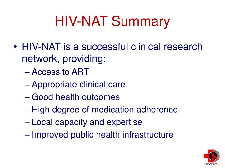 HIV-NAT Summary