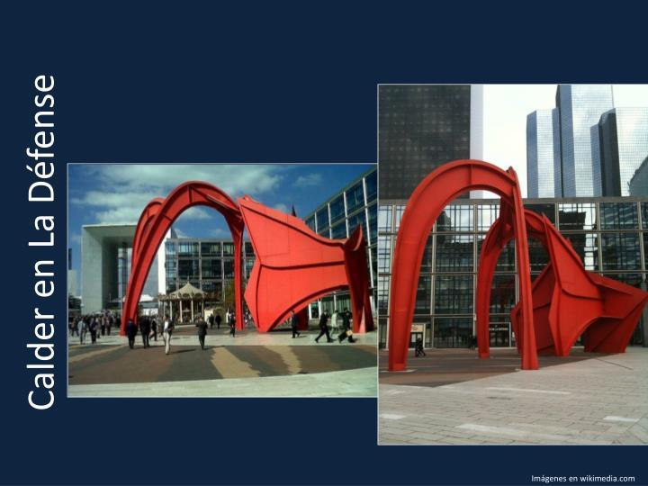 Calder en La Défense