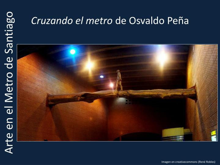 Cruzando el metro