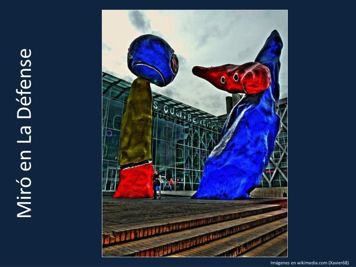 Miró en La Défense