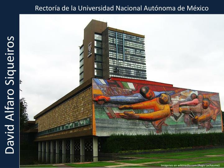 Rectoría de la Universidad Nacional Autónoma de México