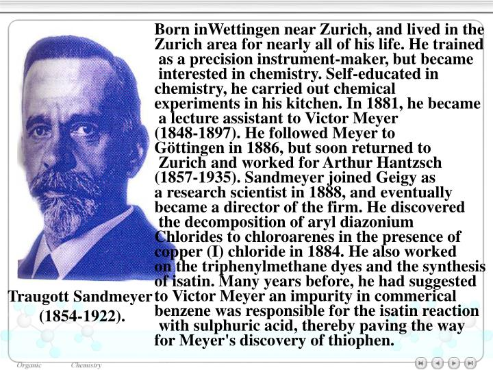 Born inWettingen near Zurich, and lived in the
